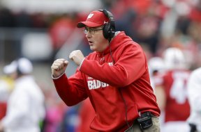 Badgers Paul Chryst AP