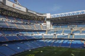 Madrid Soccer stadium Santiago AP