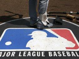 MLB logo AP