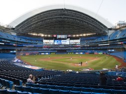 Toronto Blue Jays stadium AP