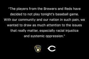 Brewers Reds statement