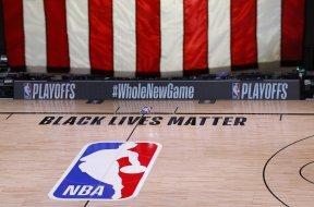 NBA court BLM AP