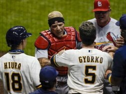 Brewers Cardinals brawl AP