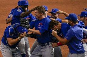 Cubs celebrate Mills no-hitter AP