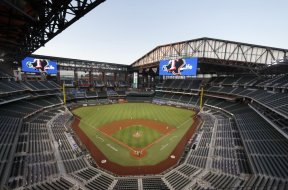 Rangers Texas Arlington stadium AP