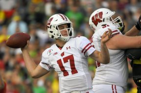 Badgers Jack Coan AP