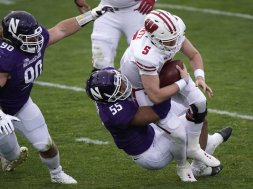 Northwestern Badgers Mertz AP