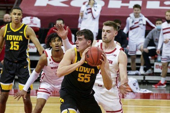 Luka Garza Iowa AP