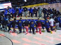 Mavs Warriors Knee AP