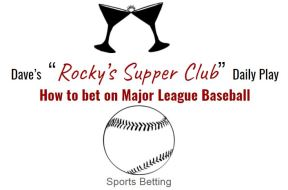 how to bet mlb