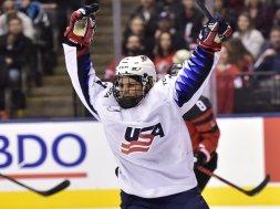USA Women's hockey AP