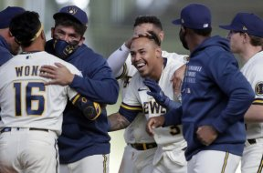 Brewers Orlando Arcia Opening Day win PA
