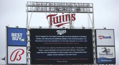 Twins postponed AP