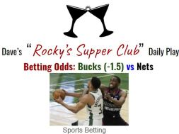bucks nets betting preview