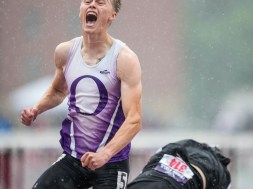 Onalaska Landon Peterson 110 hurdles champion 2021