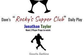jonathan taylor week 2