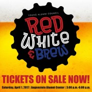 Young Alumni Council's second annual Red, White & Brew will be held April 1.