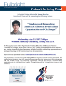 Fulbright Week events include a lecture on April 5.