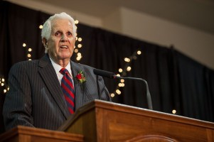 The Hall of Distinguished Alumni induction ceremony was held Oct. 21.