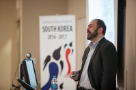 As part of the International Year of South Korea, Dr. Timothy Rich presented a lecture on North Korean politics on Feb. 28.