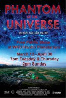 """""""Phantom of the Universe"""" will be presented March 12-April 30."""