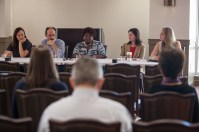Fulbright Week events included a WKU Fulbright Scholar Alumni panel discussion on April 5.