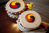 International Year of South Korea activities included a drum workshop on April 23.
