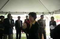 The dedication of the Model Confucius Institute Building was held May 5.