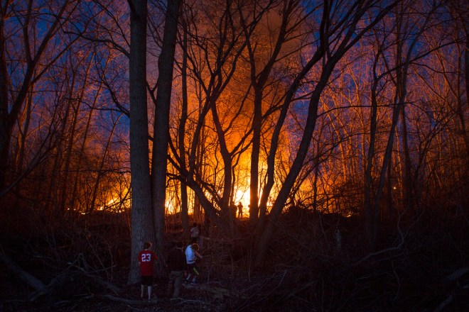 Averill Recycling Fire retoned1