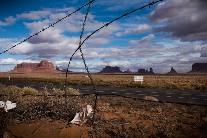 Monument Valley, land of John Wayne Westerns and home to the Navajo.