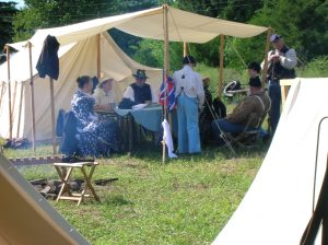 A Civil War encampment will make an appearance at the Hoosier Valley Railroad Museum next weekend.