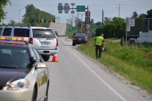 The LaPorte County Sheriff's Office is investigating a fatal hit-and-run on U.S. 421 just north of U.S. 30. Photo provided.