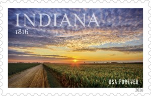 Indiana Forever Stamp
