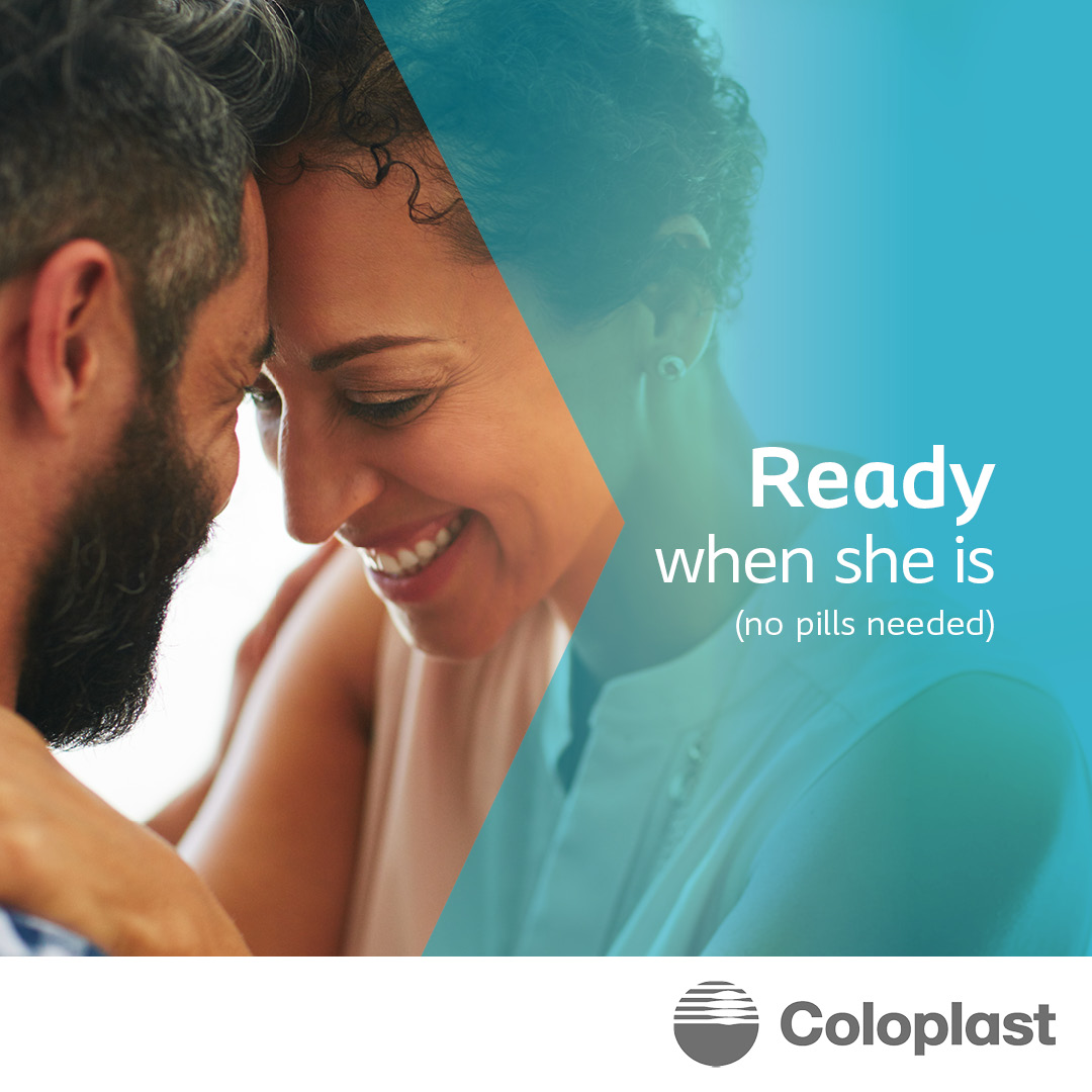 """Couple with words, """"ready when she is (no pills needed)"""""""