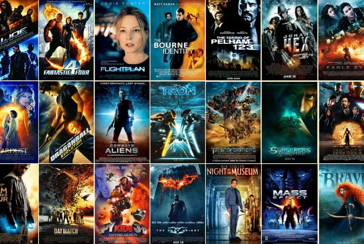 10 types of movie posters how