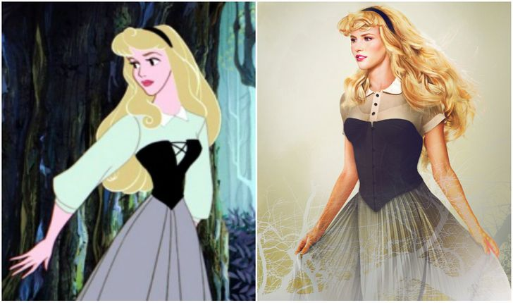 What the real Disney princesses looked like