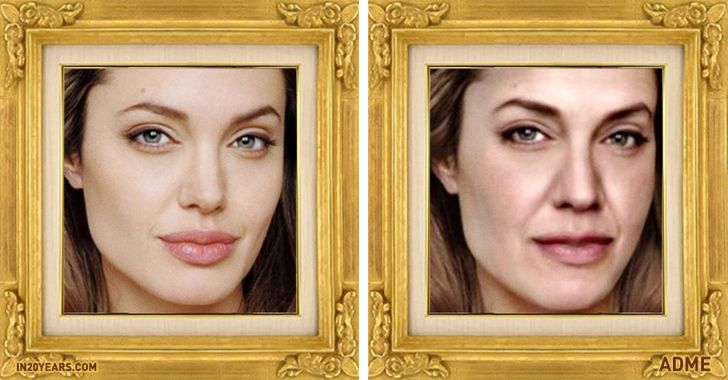 This website will show you what you'll look like 20years from now