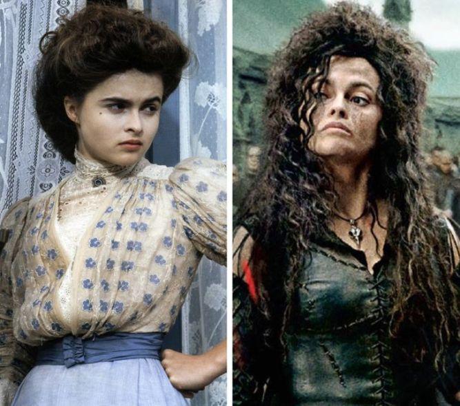 Helena-Bonham-Carter-gencligi-harry-potter-oyuncularinin-genclik-rolleri