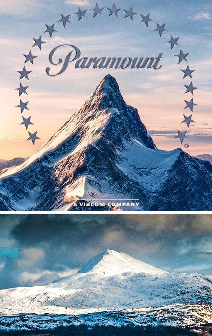 The final product turns out to be paramount's current print logo from that point onward, but as most print logos, they change over the years, because in the future, the byline for the print vesion of this logo will change twice. 10 Secrets Hidden Inside The Logos Of Hollywood Film Studios