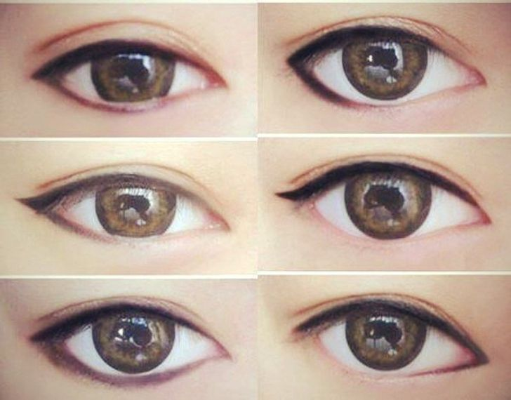 Apply Eye Makeup According To Your