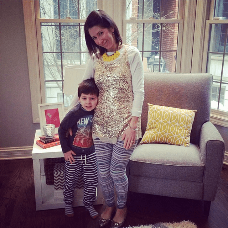 This mother let her son choose what she wore for a week
