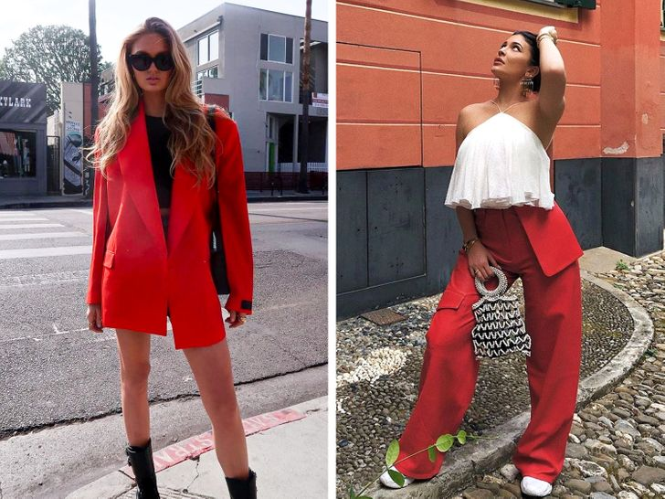 How to add the color red to your outfits to always look attractive