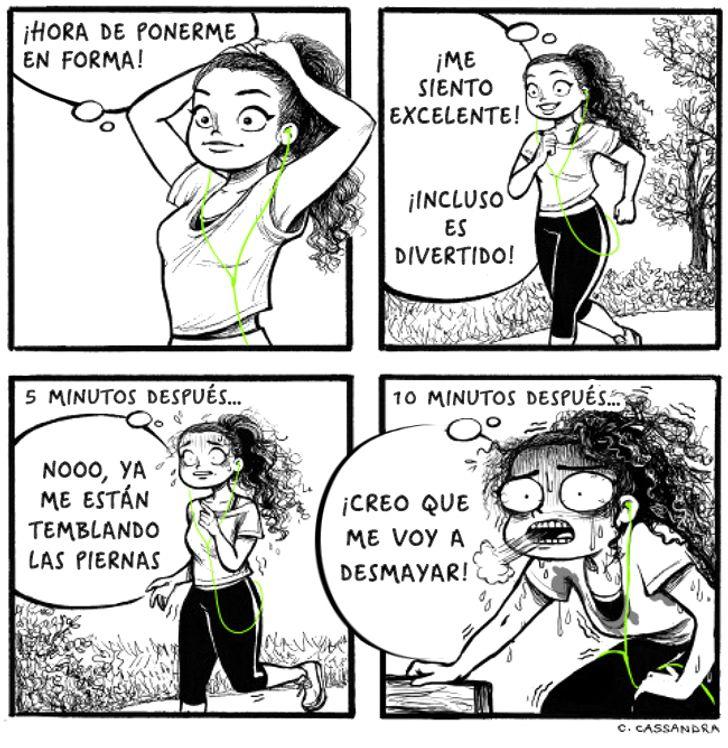 17Divertidos cómics acerca delodifícil que esser mujer