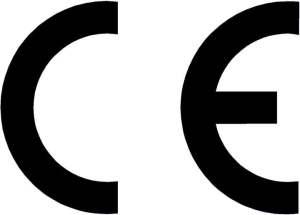 Oznaczenie obowiązkowe CE (Conformité Européenne) - wyrób zgodny z normami Unii Europejskiej