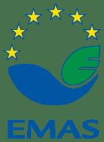 EMAS - znak ekologiczny na materiałach informacyjych