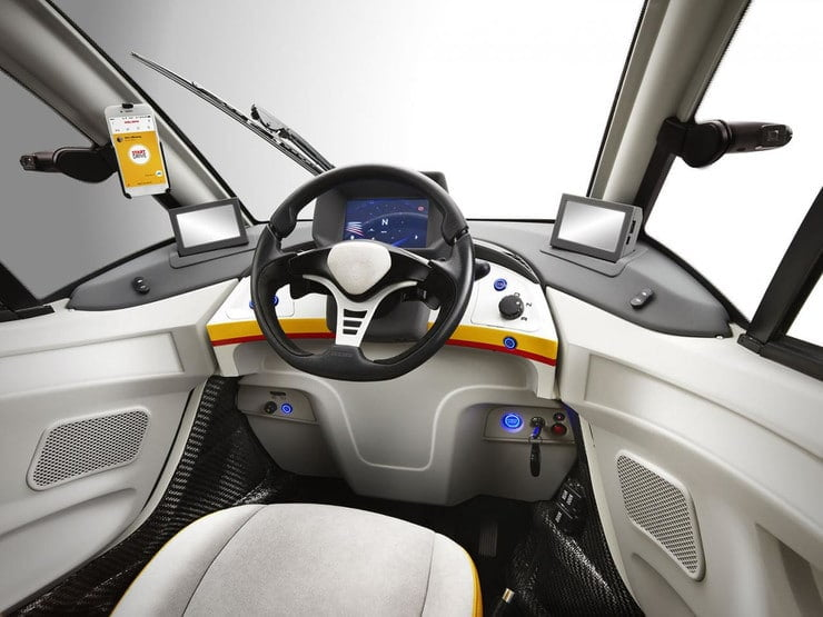 Samochód Shell Concept Car ma zużywać 2,6 litra paliwa na 100km