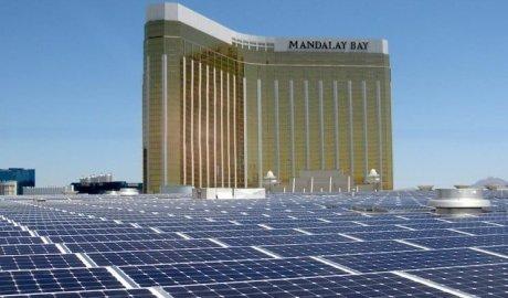 elektrownia słoneczna na dachu w Las Vegas