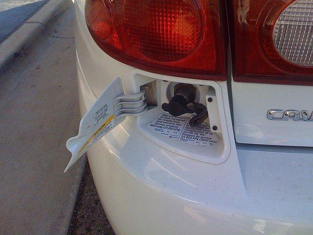 Samochody z instalacją CNG na gaz typu metan