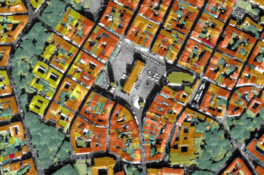 Atlas pokrycia terenu i przewietrzania Krakowa