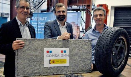 PowPowstał nowy materiał budowlany z recyklingu zużytych opon